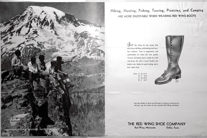 Red Wing Shoe Company Ladies boots